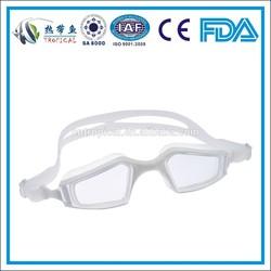 Comfortable anti-fog one piece silicone swimming goggles,liquid silicone swimming goggles