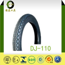 NEW TREAD 3.00-18 DJ-110 Mexico tube TYPE ROAR TIRE Best Sale south american Motorcycle Tires