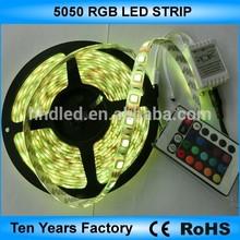 IR remote 12v/24v 60leds/m rgb led strip 5050