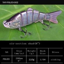 200mm 110g/fishing equipment/hard plastic ABS fishing baits