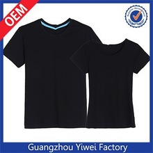White blank 100 cotton stock promotional t shirt