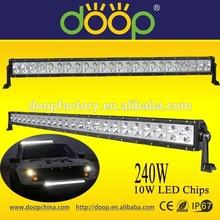 Greater Lighting IP67 Waterproof LED Work Light Bar Straight Aluminum Housing 240W LED Light Bar