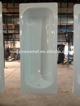enamel bathtub steel plate bath tub 1000mmL