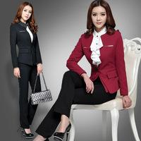 2015 New Design Ladies Suit Ladies Office Uniform Design Women Office Uniform Style Pictures of Women Wearing Suits WS282