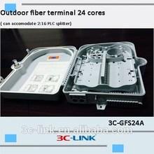 Outdoor fiber terminal 24 cores, outdoor splitter terminal 24 cores