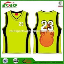 Factory USA 2014 New Design Basketball Uniform