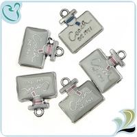 Alloy New Design Bottle Of Perfume Charms for Necklace DIY