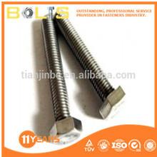 DIN933 ISO4017 A2-70 full threaded Hex head bolts