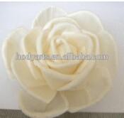 Wholesale Dia.8.0cm handmade with high quality Sola Flower Car Air Freshener