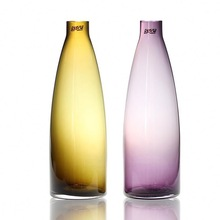 cheap colored glass vases in stock