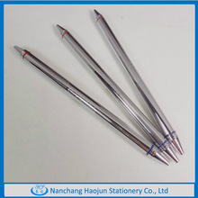 Double tipped Metal pen in double usage