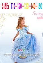 top nueva cenicienta vestidos para niñas venta caliente traje de cenicienta bc2202