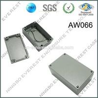rectangle aluminum waterproof box