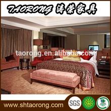 Modern European style hotel bedroom furnitures HS-076