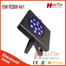 Unique new product thin par light 12*10w led flat par