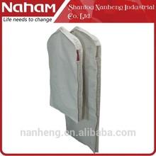 Naham wholesale custom printed garment bags/ suit cover