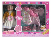 EN71, ROHS, ASTM certificate available factory directly baby doll toy for kid
