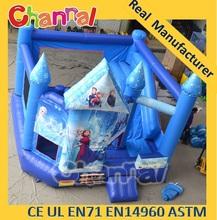 Frozen bouncy castle inflatable bounce