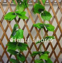 Artificial plastic grape leaves ,decorative grape branches,tree branches for centerpieces