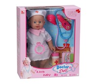wholesale plastic vinyl nurse baby doll toy from china