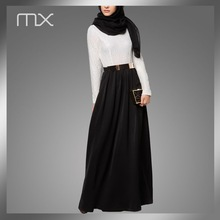 Modern Fashion Ladies Abaya Arabic Muslim Long Dress New Model Abaya in Dubai