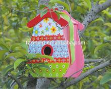 Wooden Bird House beautiful bird cage