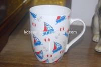 porcelain ceramic 11oz coffe mug