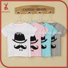 KT41 boys and girls cartoon modal short-sleeve T-shirt