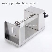 tornado rotary potato tower crane spiral potato slicer for home