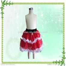 Wholesale fashion christmas red tutu dress for girl