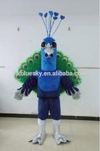 Adult peacock cartoon character mascot costumes peacock character costume for sale