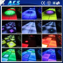 reasonable price Cheap RGB 15 DMX Channel interactive led dance floor tiles