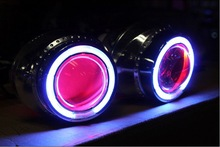 G5 kit h7 high quality 35w 55w AC bi-xenon hid projector lens light angel eyes