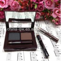 Menow splendid 2 colors eyebrow powder makeup kit with brush