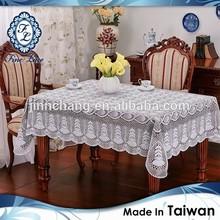 Supeior Handmade Alike Taiwan Vinyl Crochet Tablecloth