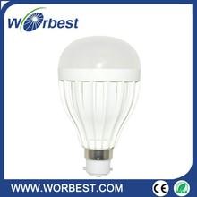 5 Watts Ceramic LED Globe Bulb Opal B22 Base in Cool White