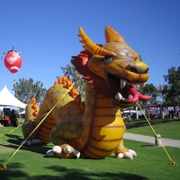 2015 Hot sale inflatable chinese dragon for advertising