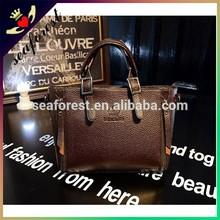 customized logo leather handbags