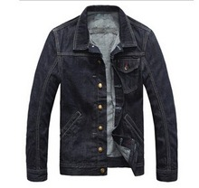 2015 fashion style wholesale mens denim jacket