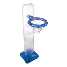PVC garden inflatable plastic basketball goal post