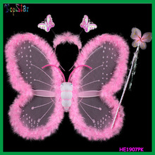 2015 Wholesale Cheap Fancy Dress Fairy Butterfly Wings