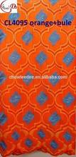 2015 Trade Assurance Supplier Afican Cotton Lace FabicCL4095 orange+bule