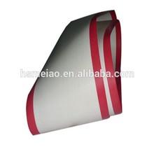Red film edge PTFE teflon conveyor belt made in china