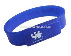 SILICON BRACELET USB Flash Drive / USB stick / Wrist band USB