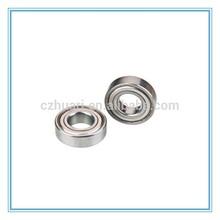 Metric size single row miniature ball bearing MR63ZZ
