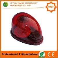 IP65 resistance shock colorfast led on-board remote control solar red flashing light
