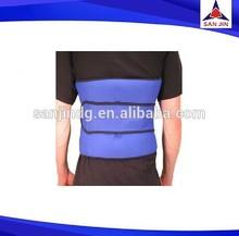 neoprene waist trimmer adjustable back brace with pad lady elastic belts safety back belt