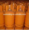 Materiales de acero de glp 12.5 kilogramos de cilindros de gas del tanque
