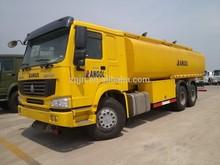 SINOTRUK 5~25 cubic oil tanker used trucks