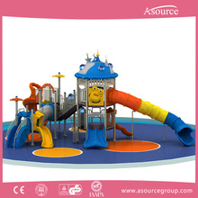 Kid safety interesting cheap plastic children outdoor play equipment for baby playing in the playground for kids AP OP10908